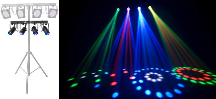 Chauvet DJ 4PLAY 4 x RGBW Moonflower Bar image 1