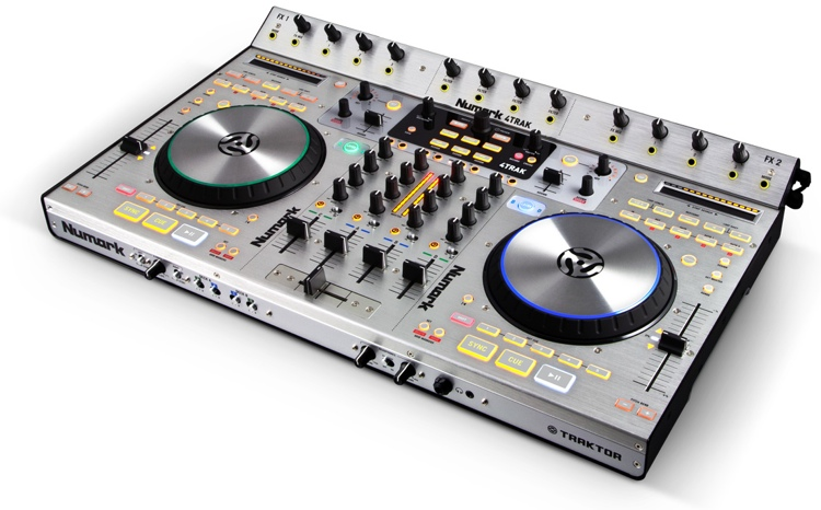 Numark 4TRAK 4-channel DJ Controller and Mixer image 1