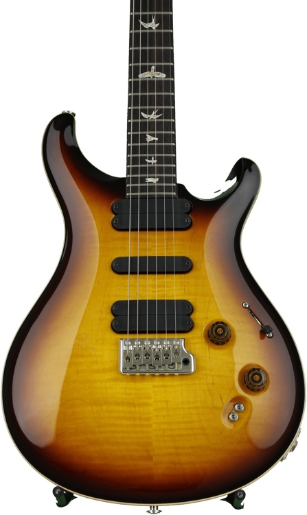 PRS 509 Figured Top - McCarty Tobacco Sunburst with Pattern Regular Neck image 1