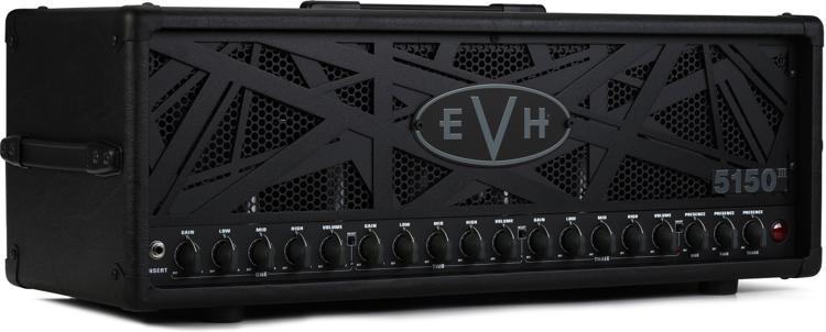 EVH 5150III 100S Head 100-watt Special Run Tube Head - Black ‰Stealth‰ image 1