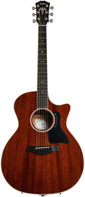 Taylor All-Mahogany 524 First Edition - A/E Cutaway Grand Auditorium image 1