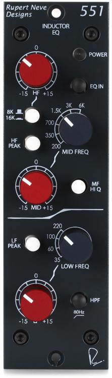 Rupert Neve Designs 551 Inductor Equalizer image 1