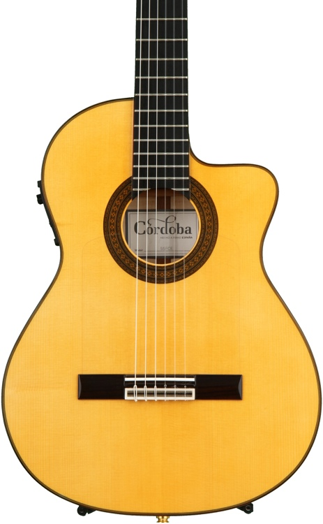 Cordoba 55FCE Honey Amber image 1