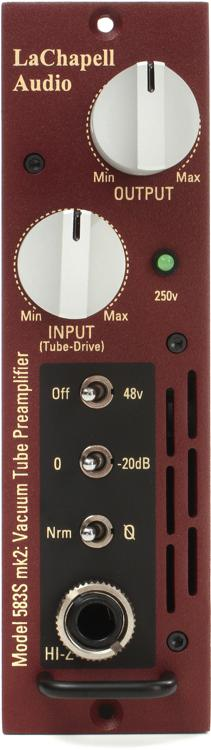 LaChapell Audio Model 583S mk2 Microphone Preamp image 1
