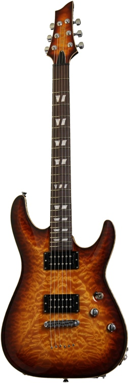 Schecter USA Hollywood Classic - Vintage Burst image 1