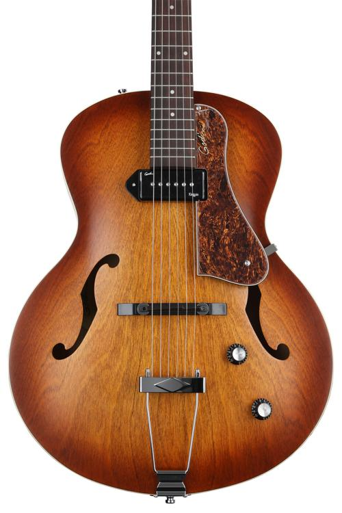Godin 5th Avenue Kingpin - Cognac Burst image 1
