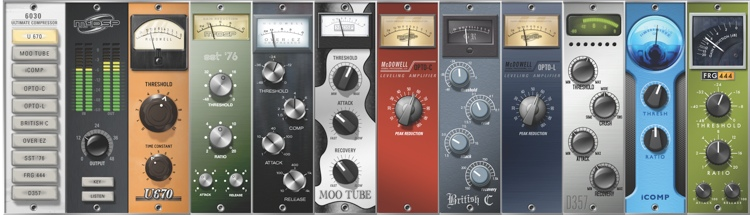 McDSP 6030 Ultimate Compressor HD v6 Plug-in image 1