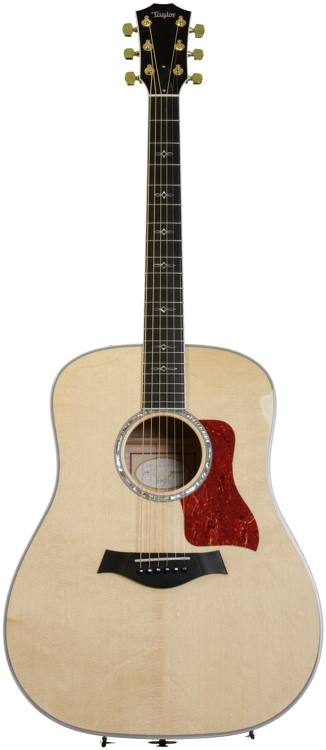 Taylor 610e Dreadnought - Electronics, Natural image 1
