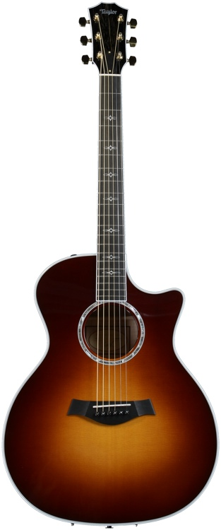 Taylor 614ce Grand Auditorium - Cutaway, Electronics, Tobacco S image 1