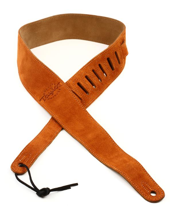Taylor Suede Guitar Strap - Honey image 1