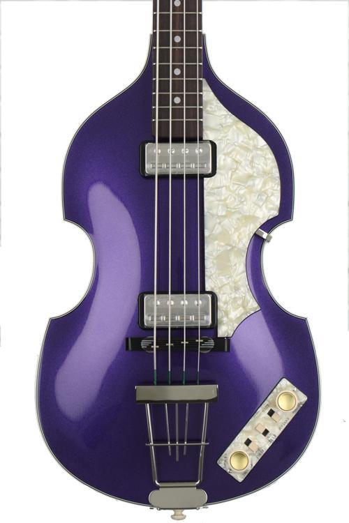 Hofner \'62 Custom Shop Violin Bass, Sweetwater Custom - Purple image 1