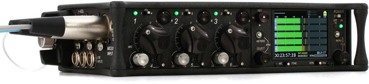 Sound Devices 633 6-channel Field Mixer with 10-track Recorder image 1