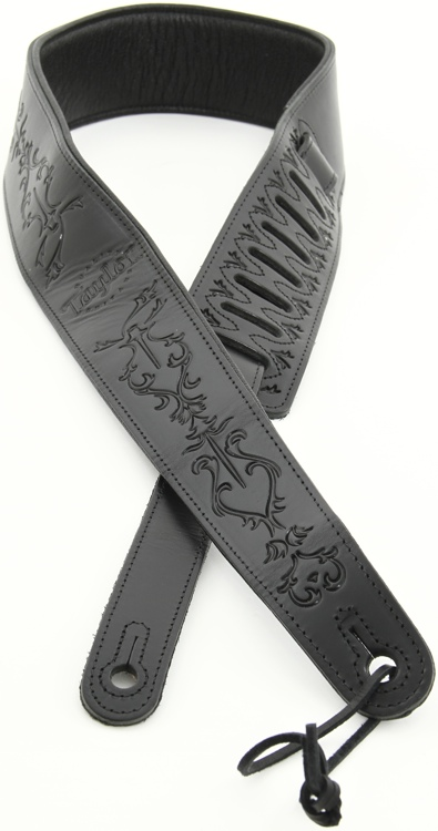 Taylor Byzantine Guitar Strap - Black image 1