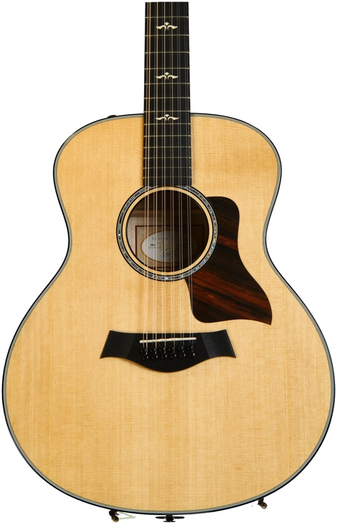Taylor 656e 12-String Grand Symphony - Brown Sugar Stain image 1