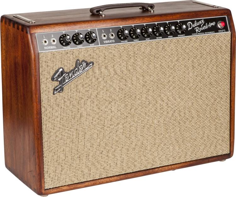Fender \'65 Deluxe Reverb - FSR Mahogany Cane image 1