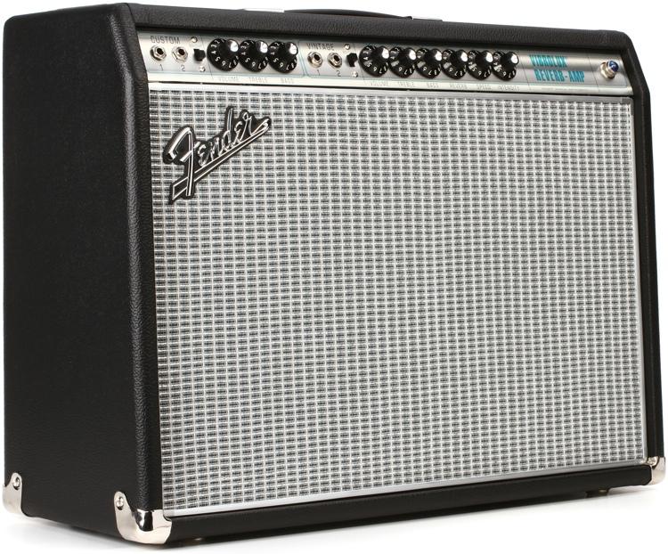 fender 39 68 custom vibrolux reverb 35w 2x10 guitar combo amp sweetwater. Black Bedroom Furniture Sets. Home Design Ideas