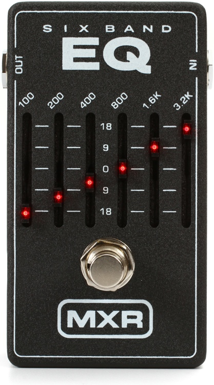 MXR M109 6-Band Graphic EQ image 1