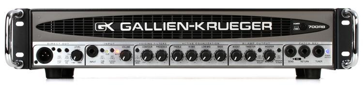 gallien krueger 700rb ii 480 50 watt compact bass head sweetwater. Black Bedroom Furniture Sets. Home Design Ideas