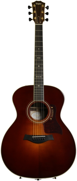 Taylor 714e with Black Gotoh 510 tuners image 1