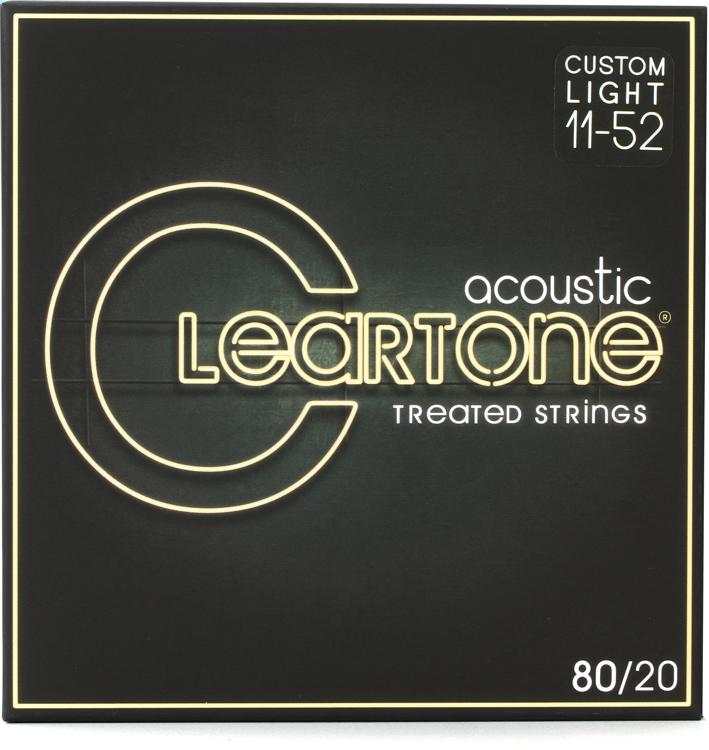 Cleartone 7611 EMP 80/20 Bronze Acoustic Guitar Strings - .011-.052 Custom Light image 1