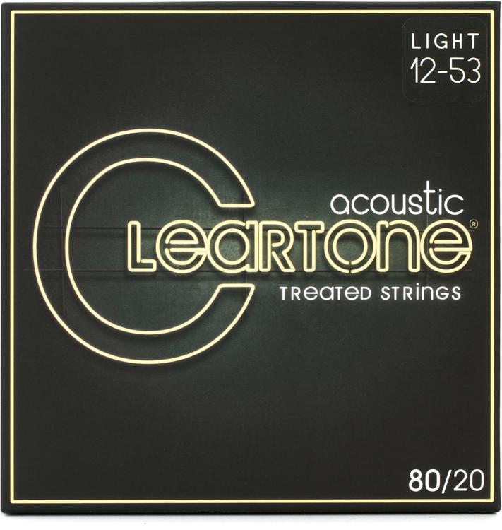 Cleartone 7612 EMP 80/20 Bronze Acoustic Guitar Strings - .012-.053 Light image 1