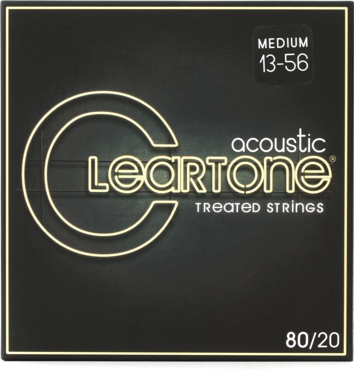 Cleartone 7613 80/20 Bronze Acoustic Guitar Strings - .013-.056 Medium image 1