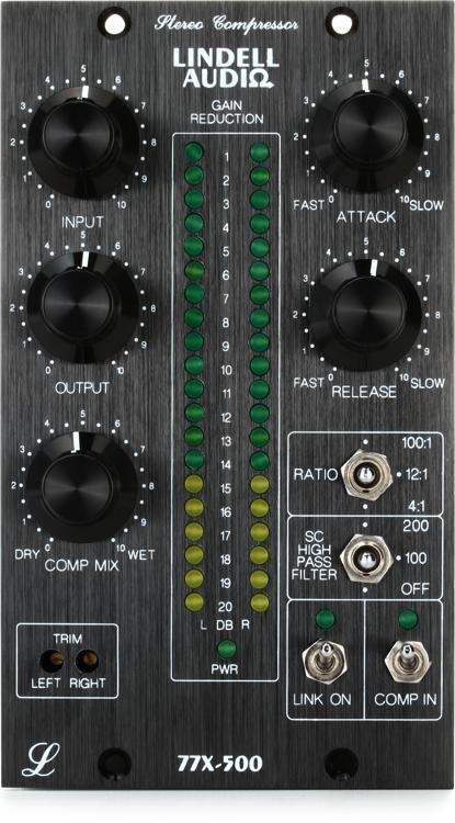 Lindell Audio 77X Stereo Compressor/Limiter image 1