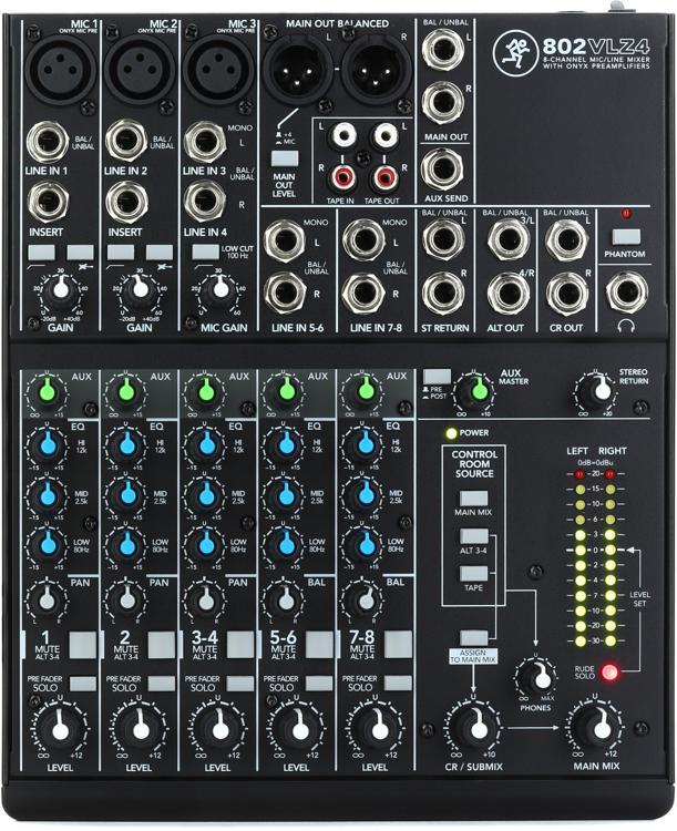 Mackie 802VLZ4 Mixer image 1