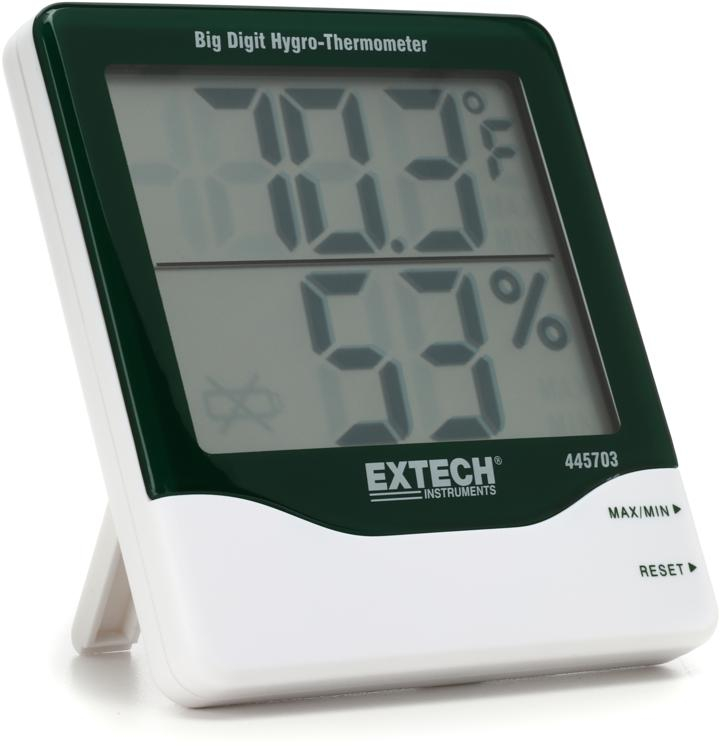 Taylor Hygro-Thermometer Big Digit image 1