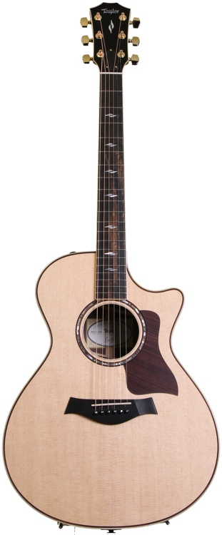 Taylor 2014 1st Edition 812ce - Natural, Cutaway, with ES2 image 1