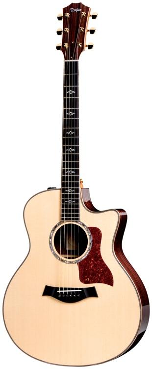 Taylor 816ce Grand Symphony - Cutaway, Electronics, Natural image 1
