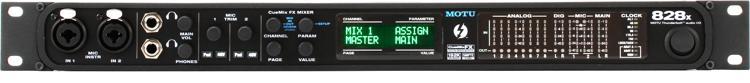 MOTU 828x 28x30 Thunderbolt / USB 2.0 Audio Interface image 1