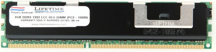 Top Tier PC3-10600ECC DIMM - 8GB (Unregistered) image 1
