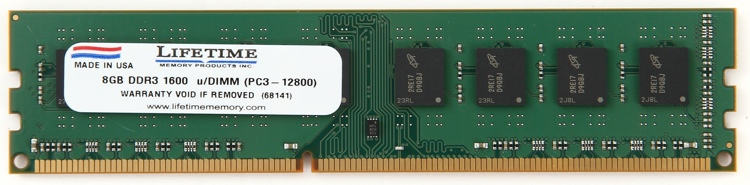 Top Tier 1600MHz DIMM - 8GB image 1