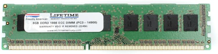 Top Tier PC3-14900 ECC DIMM - 8GB DDR3 1866MHz for Mac Pro image 1