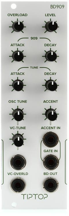 Tiptop Audio BD909 Eurorack Analog Bass Drum Module image 1