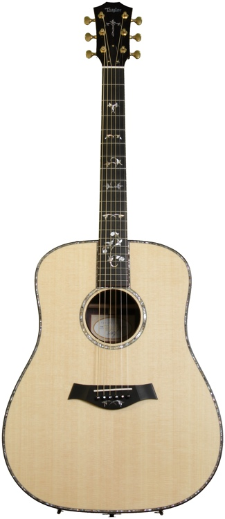 Taylor 910e Dreadnought - Natural, Electronics image 1