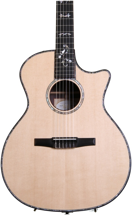 Taylor 914ce-N Grand Auditorium - Nylon, Cutaway, Electronics, Na image 1