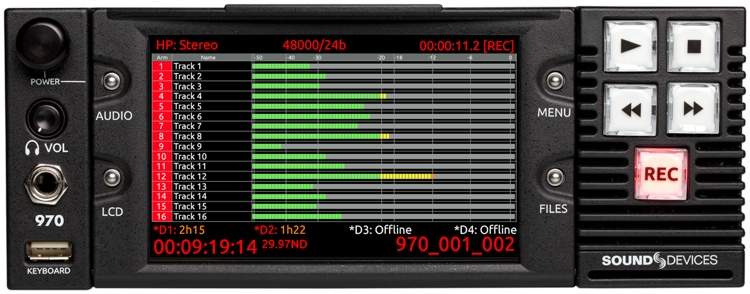 Sound Devices 970 image 1