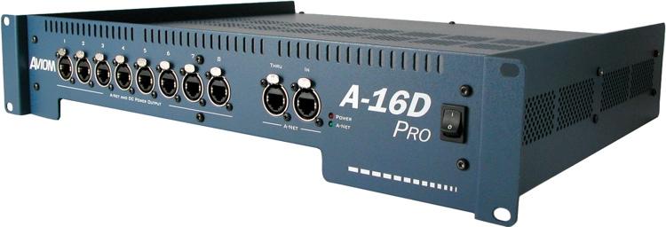 Aviom A-16D Pro A-Net Distributor image 1