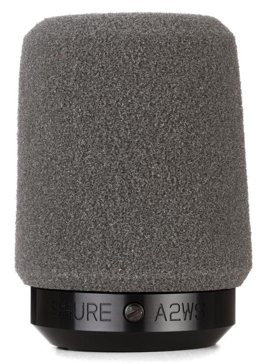 Shure A2WS Windscreen - Gray image 1