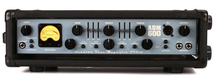 Ashdown ABM 600 EVO IV 600-Watt Bass Head image 1