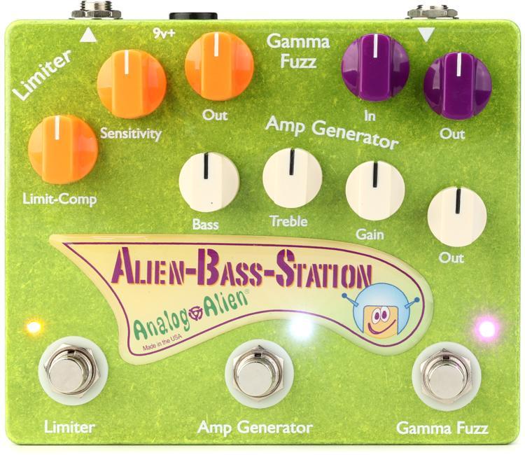 Analog Alien Alien Bass Station (ABS) Compressor / Amp Generator / Fuzz Bass Pedal image 1