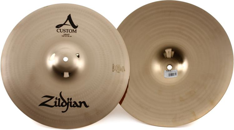 Zildjian A Custom Hi-hats - 14