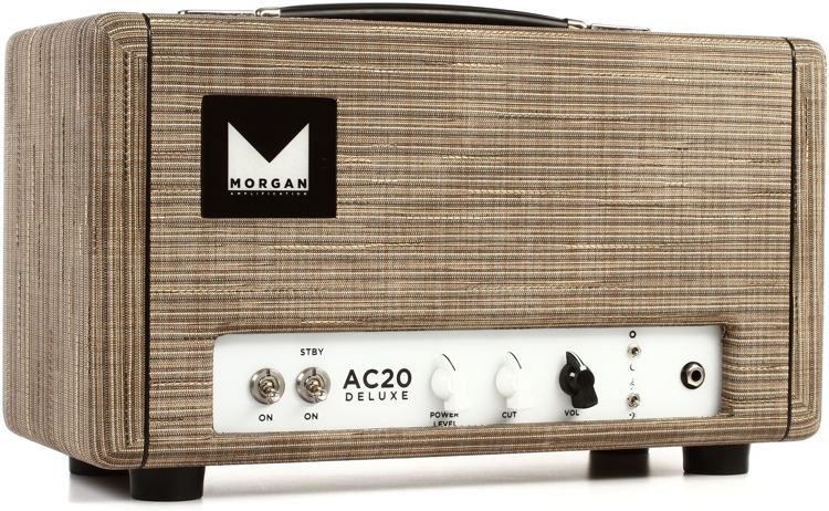 Morgan Amps AC20 Deluxe 20-watt Tube Head - Driftwood image 1