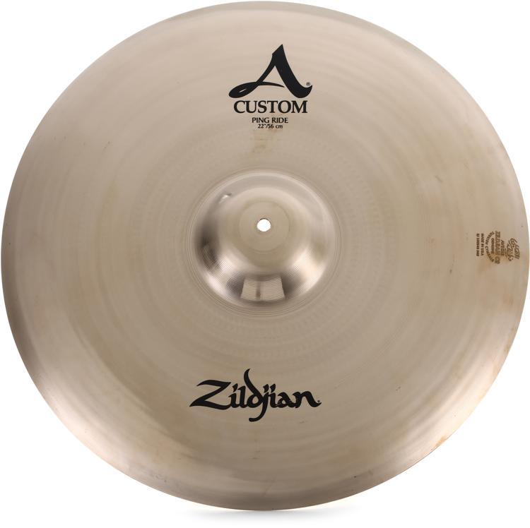 9439d0f5194b Zildjian A Custom Ping Ride Cymbal - 22