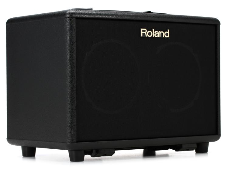 Roland AC-33 30-Watt Battery Powered Black Portable Acoustic Amp image 1