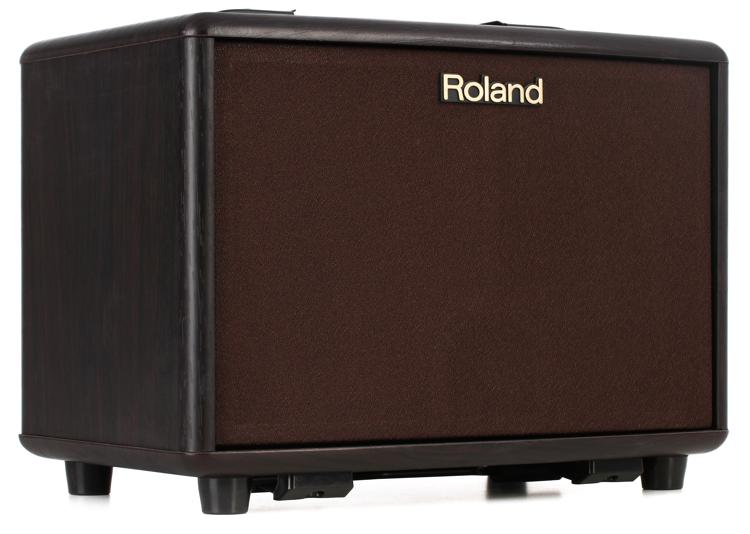 Roland AC-33 30-Watt Battery Powered Rosewood Portable Acoustic Amp image 1