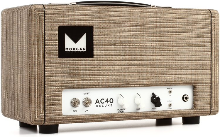 Morgan Amps AC40 Deluxe 40-watt Power-scaled Head - Driftwood image 1