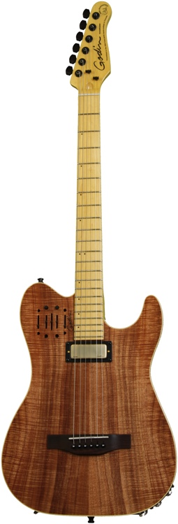 Godin Acousticaster 40th Anniversary - Koa, Maple Neck image 1